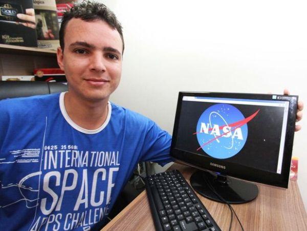 Estudante de Campina vence etapa de desafio de criação de software e irá conhecer a NASA