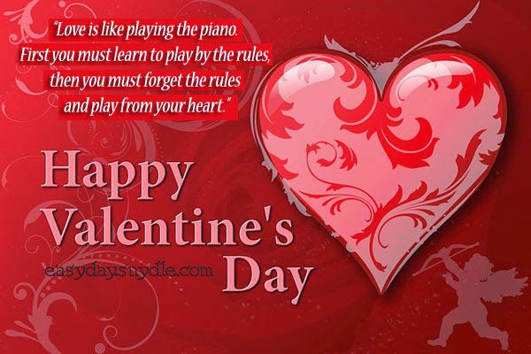 Romantic Valentines Day 2015 Cards Message Greeting Pictures – Best Valentines Day Card Messages
