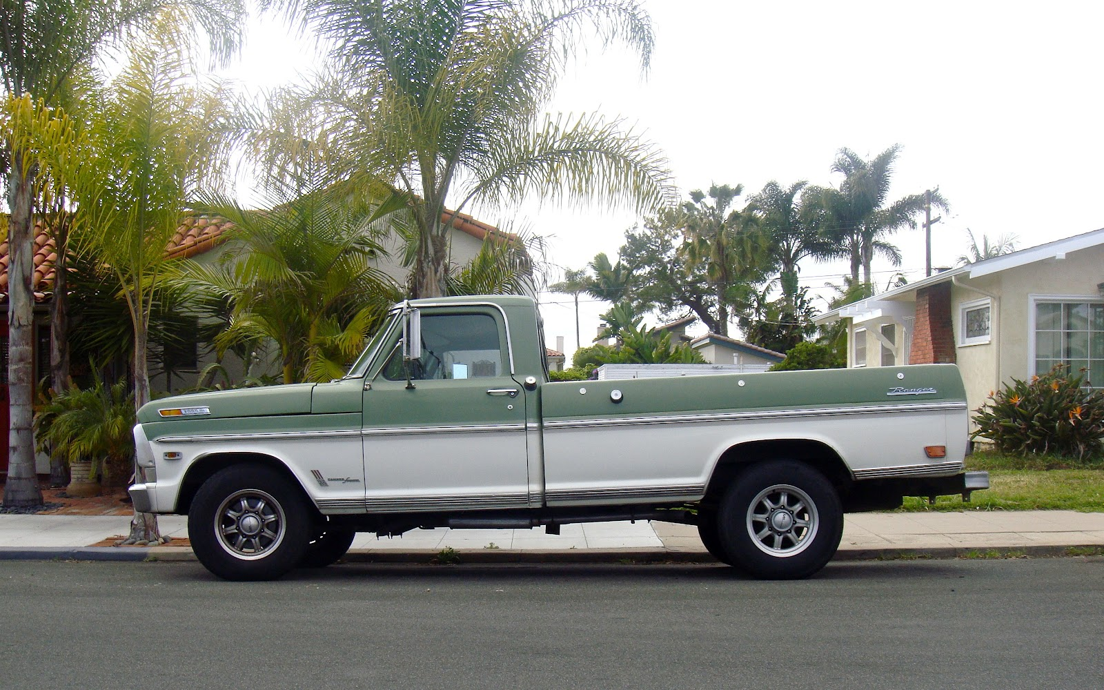 The Street Peep 1969 Ford F 250 Ranger Camper Special Bronco