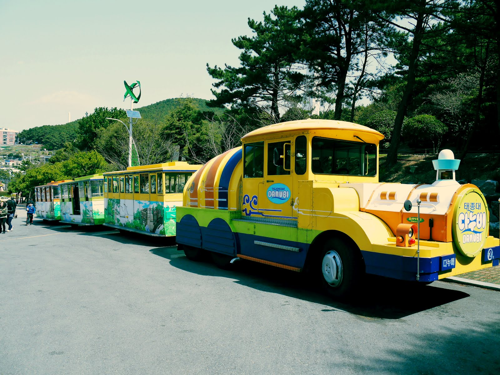 太宗台遊園車