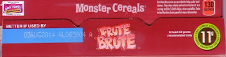 Top of Frute Brute 2013 box