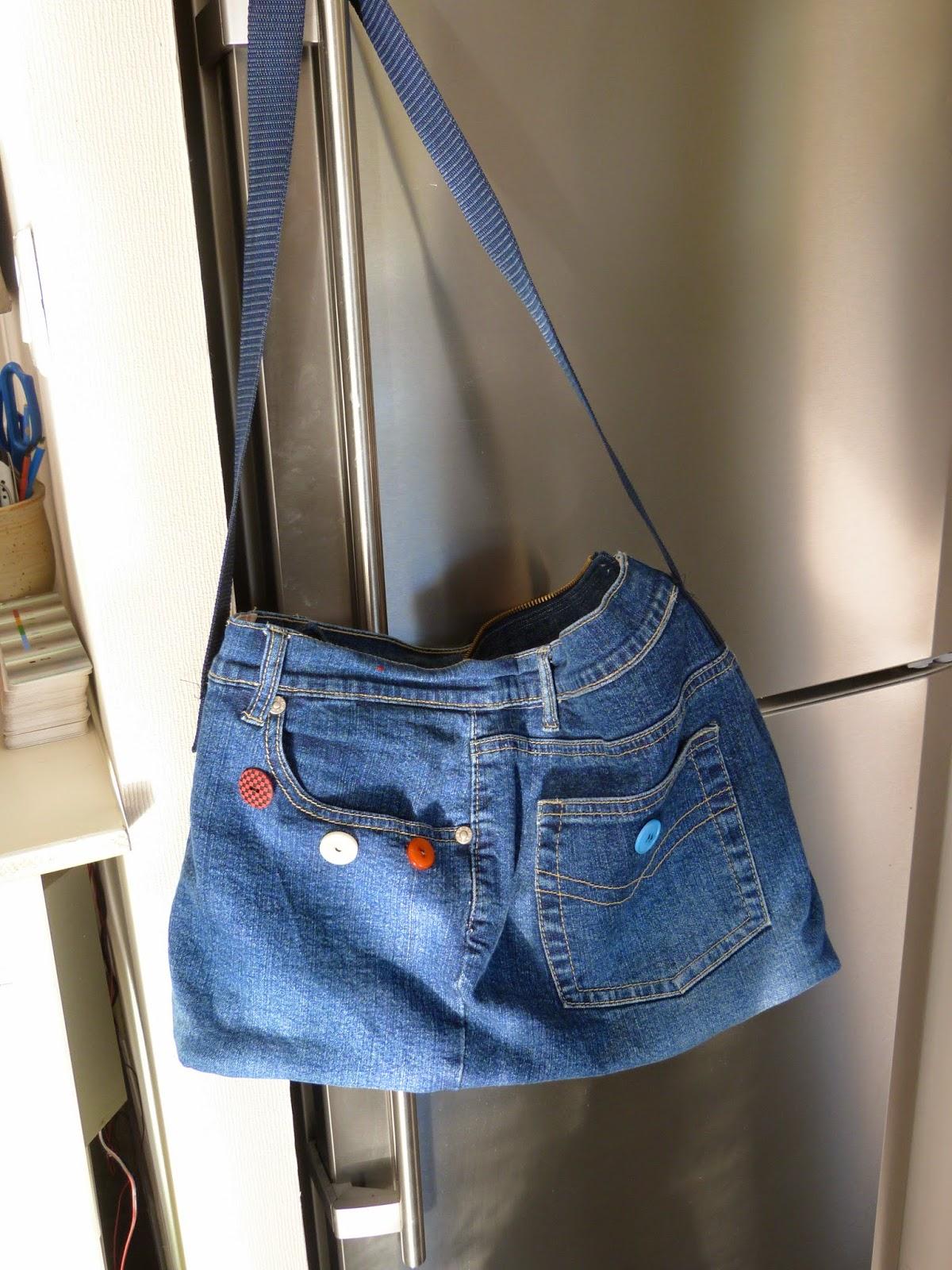 conseil de couture pour d butante mod le sac en jean. Black Bedroom Furniture Sets. Home Design Ideas