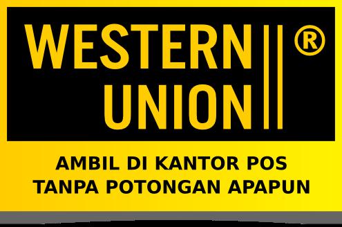 logo western union, biaya western union kantor pos