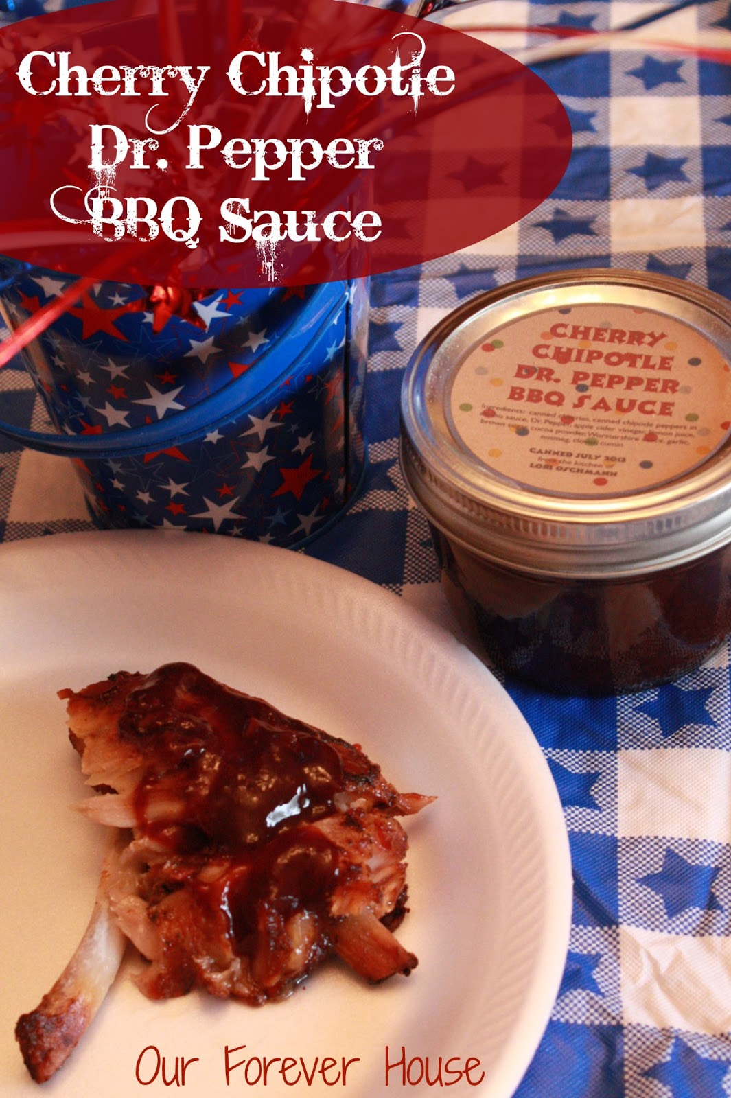 Our Forever House: Cherry Chipotle Dr. Pepper BBQ Sauce