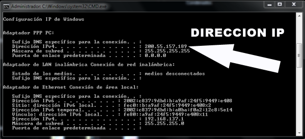 how to get mac address windows 7 cmd
