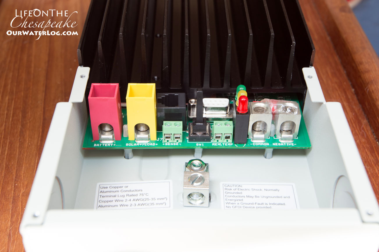 Off The Grid Conversion Solar Panel Installation Bank Wiring Additionally Battery Also Length Of Wire Ie Distance Between Panels Controller And Batteries Should Be As Short Possible To