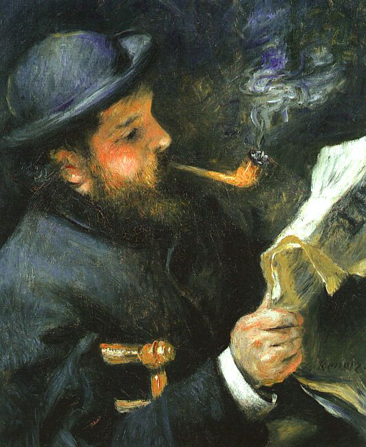 Art history news intimate impressionism from the national for Auguste renoir paris