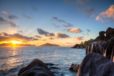 Sonnenuntergang an der Source d'Argent - HDR