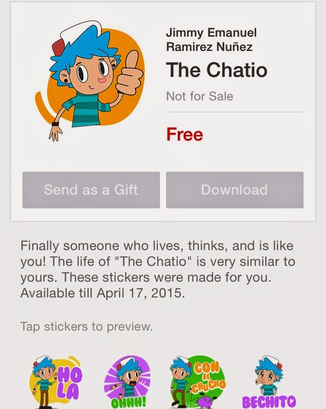 The Chatio sticker