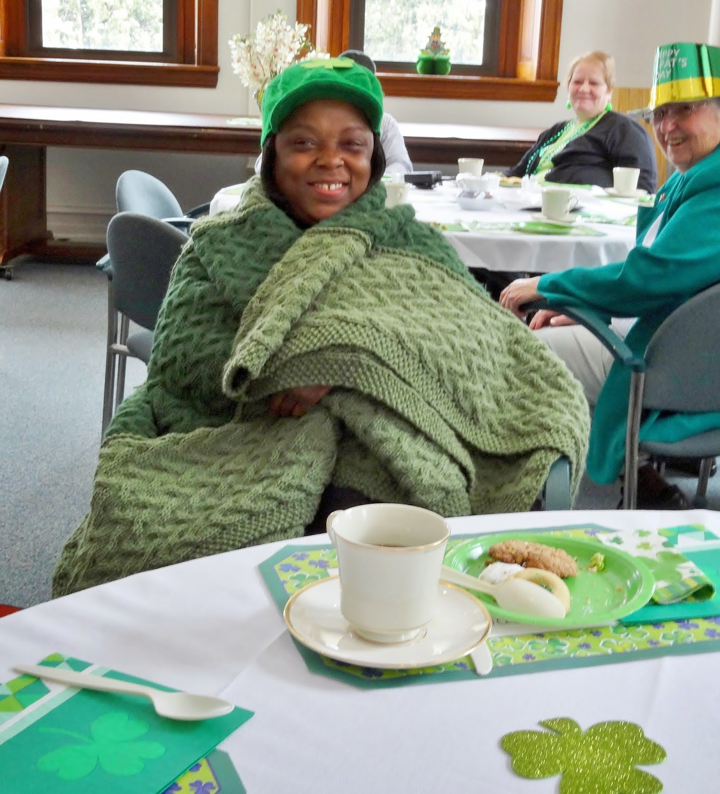 Franciscan life employees enjoy high tea on st patrick s for Afghan cuisine regina