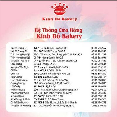 Kinh Đô Bakery ưu đãi nhân dịp 8/3, Bakery khuyến mãi, địa điểm ăn uống 365