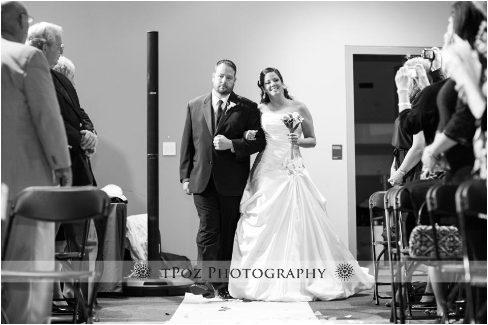 Sports Legends Museum Wedding Ceremony Baltimore