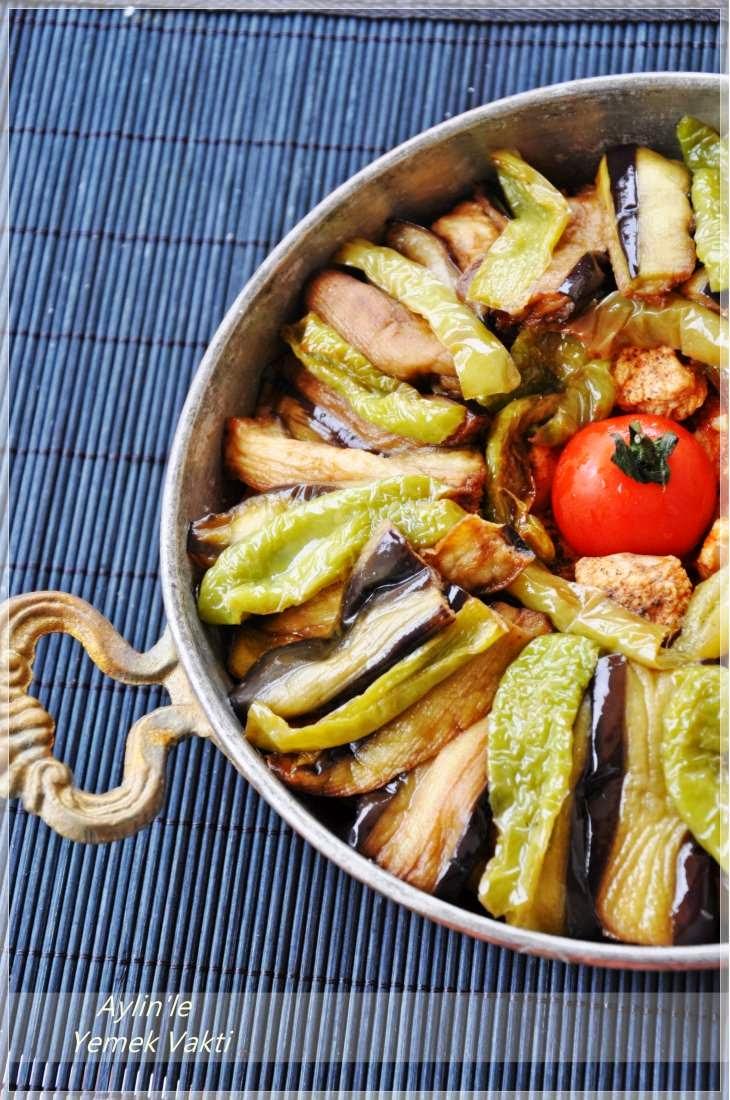 Patlıcan Parmak Kebabı