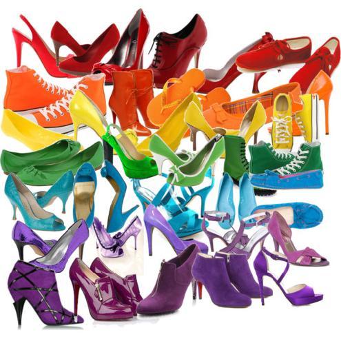 Neon files zapatoholic 5 zapatos de hoy - Zapatos collage ...