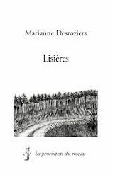 """""""Lisières"""", Les penchants du roseau, collection Les petits penchants, 51 pages, juin 2012"""