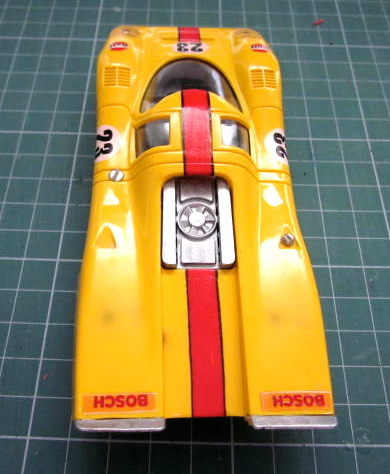 El dragon dorado restauracion porsche 917 color amarillo - Pulimento liquido titanlux ...