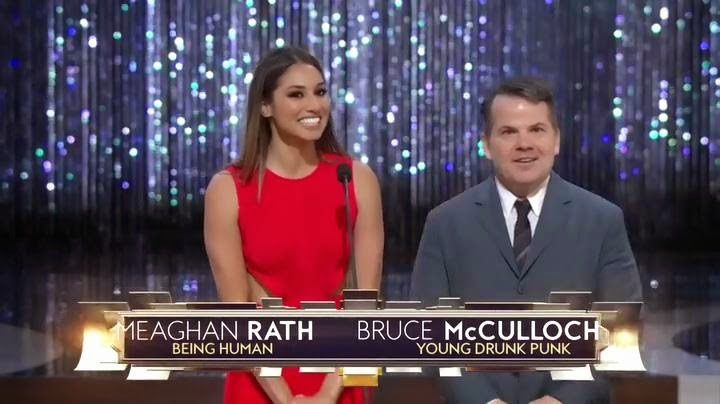 Meaghan Rath and Bruce McCulloch