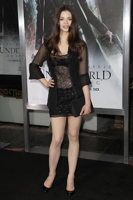 India Eisley at the premiere of Underworld- Awakening at Grauman's Chinese Theatre in Hollywood