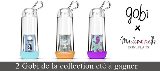 Jeu Gobilab et Mademoiselle Bons Plans: 2 Gobi eco-design personnalisables à gagner