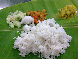 Holiday Fans travel the World RTW -family activities Budget Travel Banana Leaf Rice Food of Malaysia