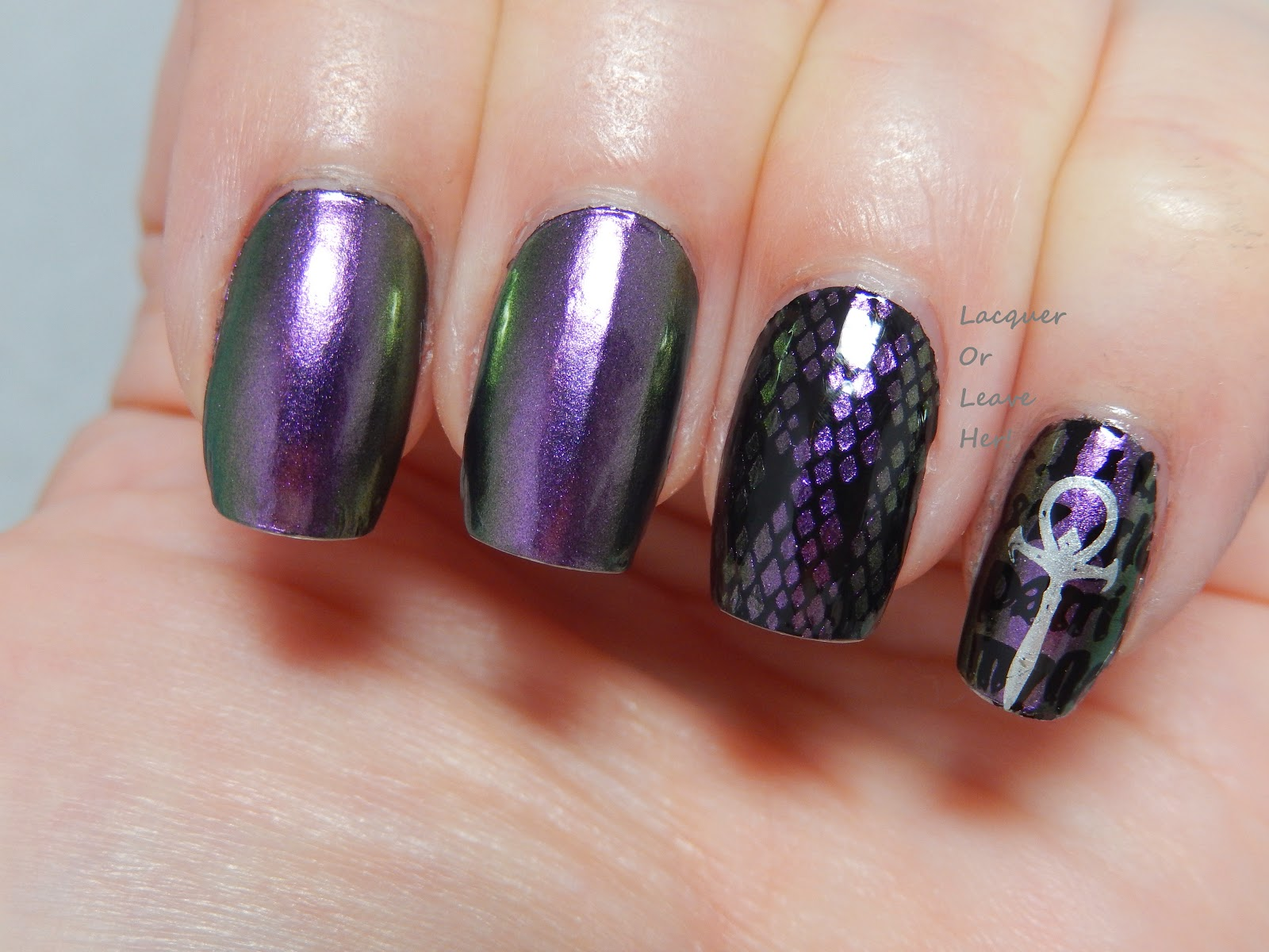 Incoco Double Take + MoYou Gothic collection