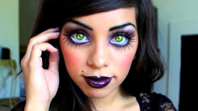 Bride Of Chucky Doll Makeup