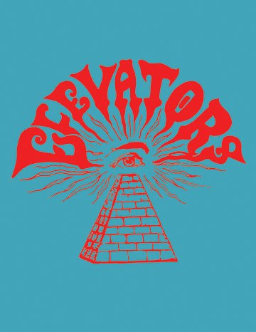 13th Floor Elevators Pyramid With Eye