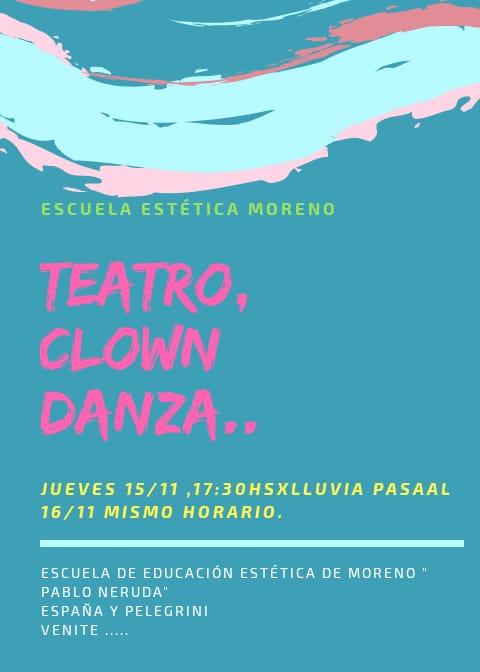 Encuentro, teatro, clown, danza
