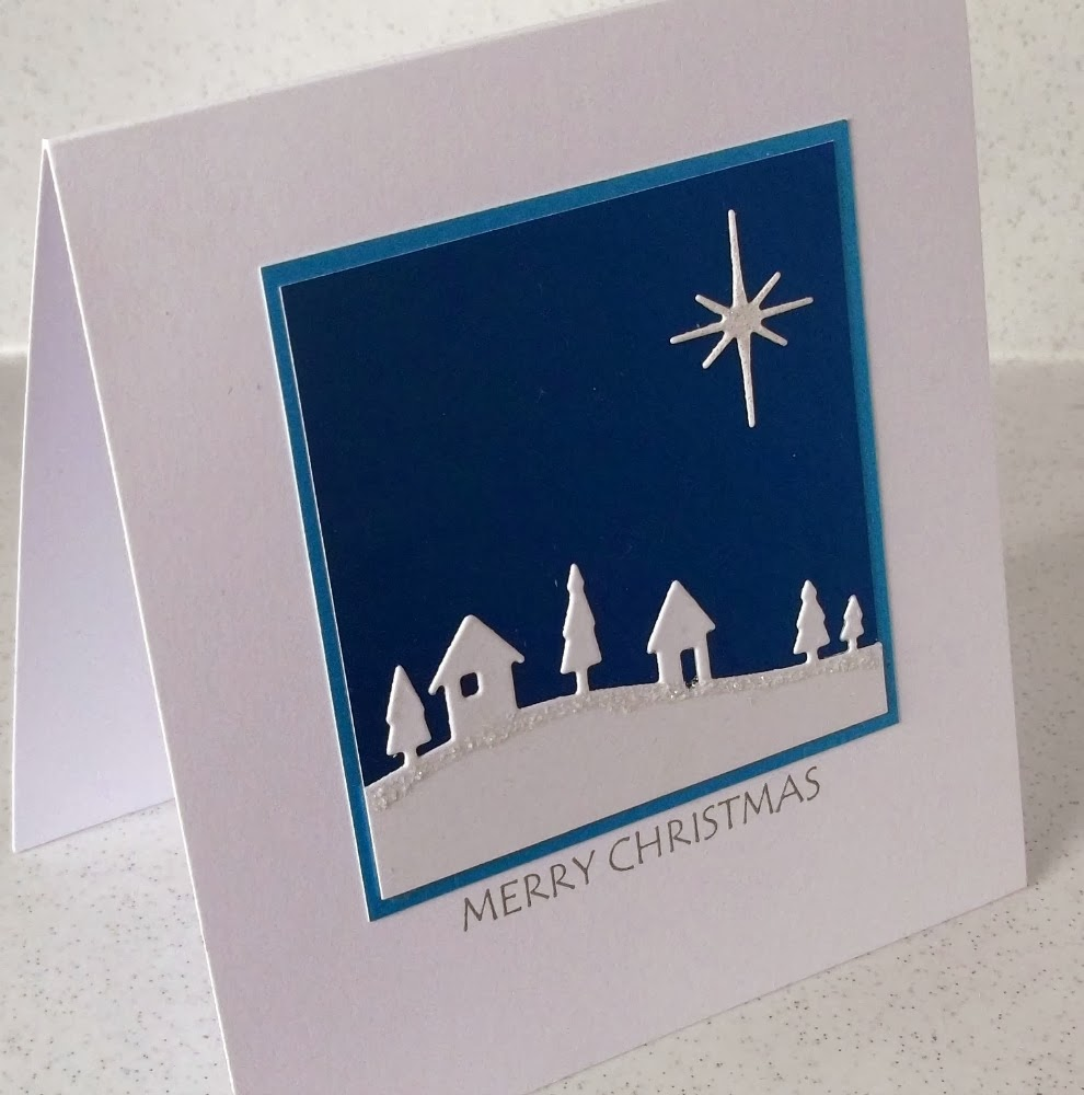Paper Daisy Cards: The last Christmas cards