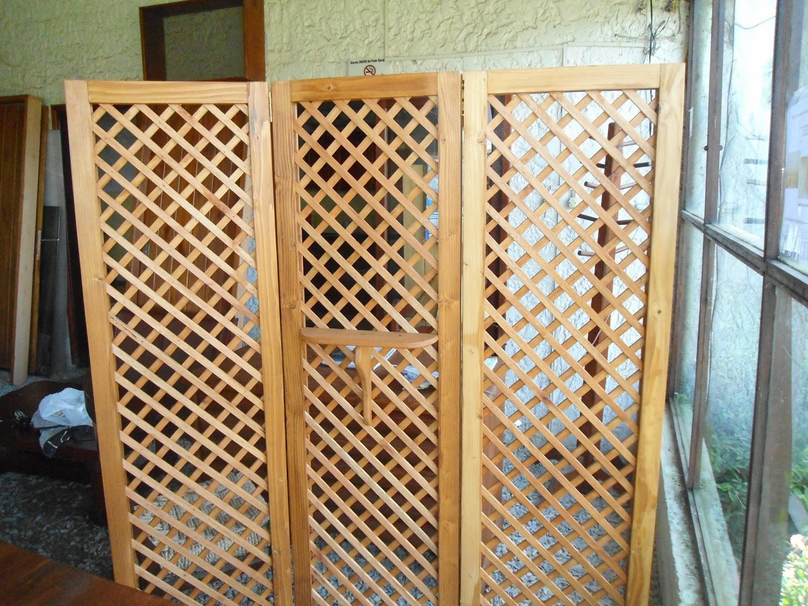 La madera y sus creaciones biombos o trilage exelente - Biombos de madera ...