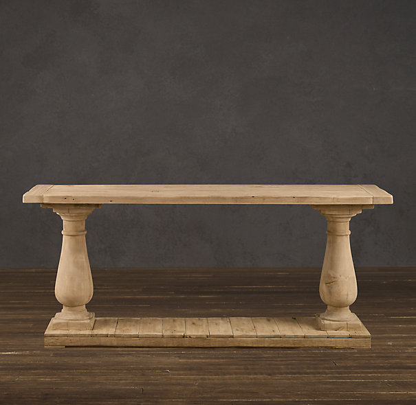 Restoration Hardware Console Table: That Was A What?!: Guess What This Glitzy Console Table