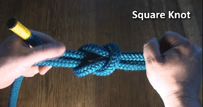 square knot demonstration