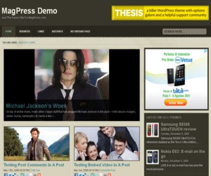 Optima Wordpress Theme