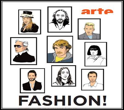 Affiche DVD documentaire Fashion Olivier Nicklaus, Arte 30ans retrospective créateurs