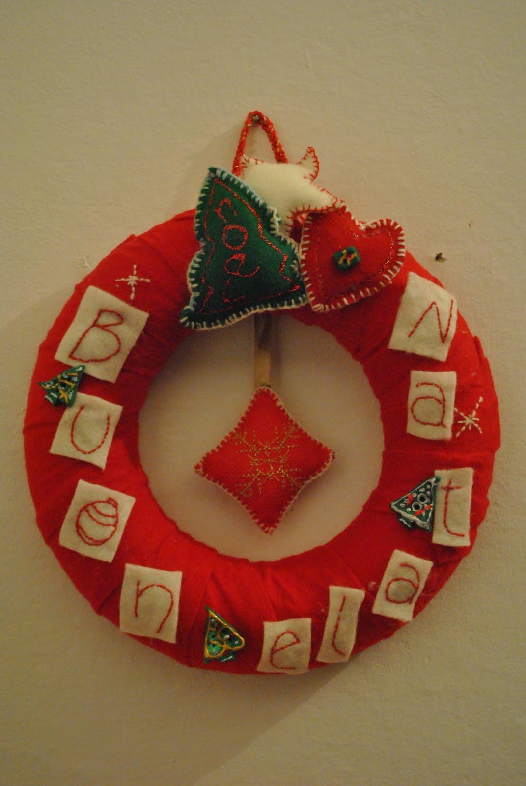 Le creazioni di bimba fuoriporta feltro - Abbellito con decorazioni ...