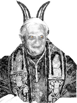 The Pope Evil Face - Illuminati