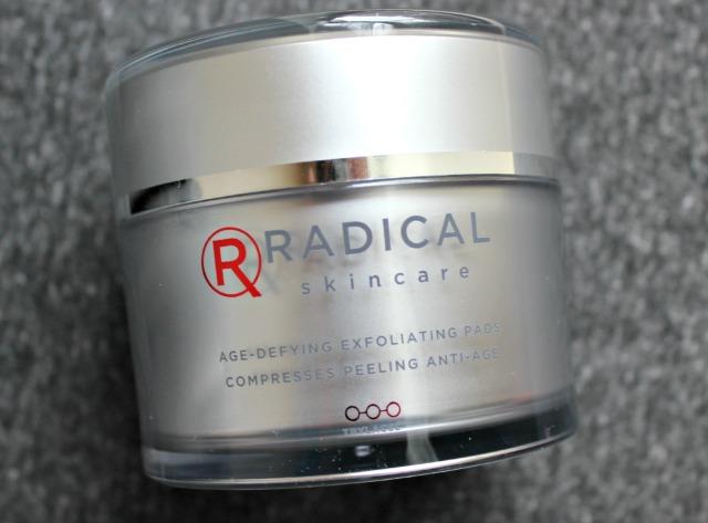 Radical Skincare Age-Defying Exfoliating Pads jar