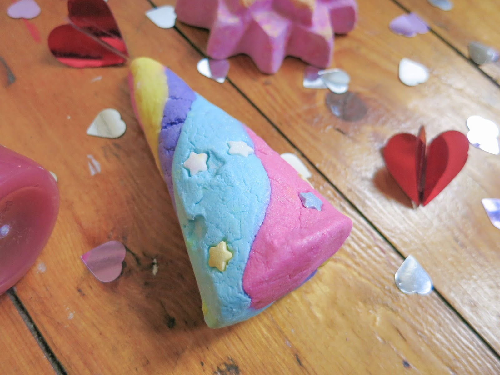 Valentines Day at Lush 2015 Unicorn Horn