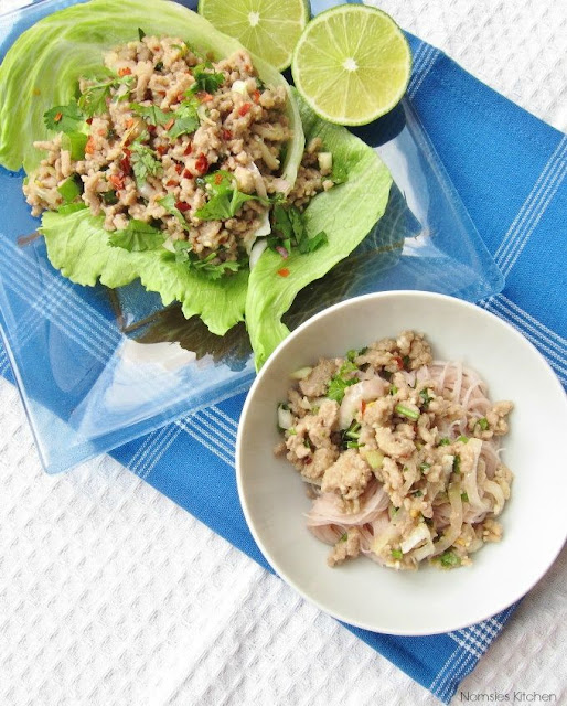 Thai Minced Pork Salad (Larb Moo) Recipe | nomsieskitchen.com
