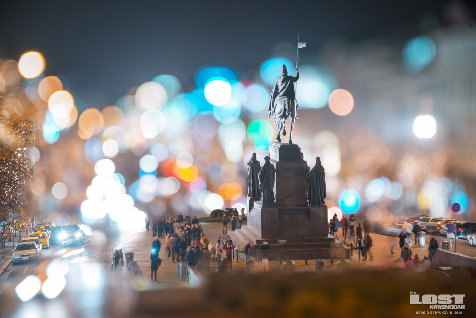 miniature prague night