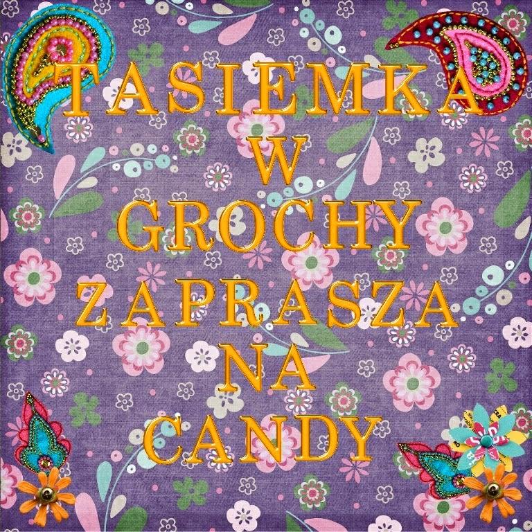 Candy Tasiemka w grochy do 01.11.2014