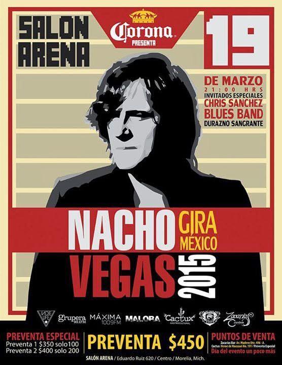 Nacho Vegas en Morelia. (México)
