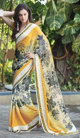 Party-Wear-Sarees 2013-14
