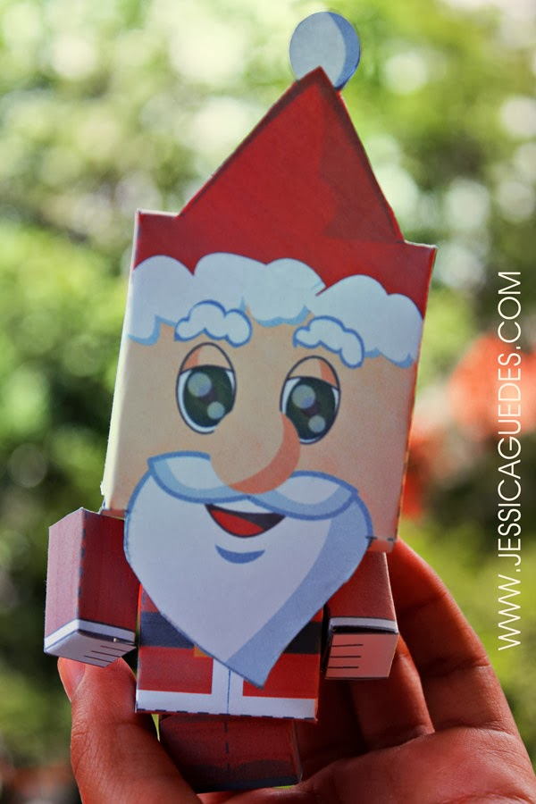 Paper Toy de Natal - Download Gratuito