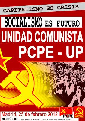 [Madrid] Semana cargada de actos comunistas Acto-unidad