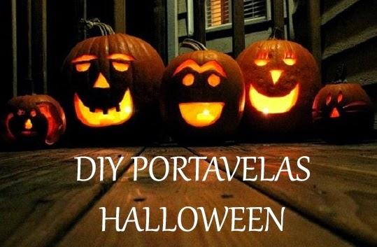 portavelas, DIY, Halloween, blogger de moda, mi vestido azul, Castellón