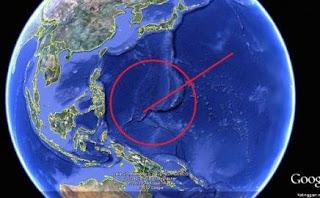 Fenomena Jempol Raksasa Menunjuk Indonesia di Google Earth