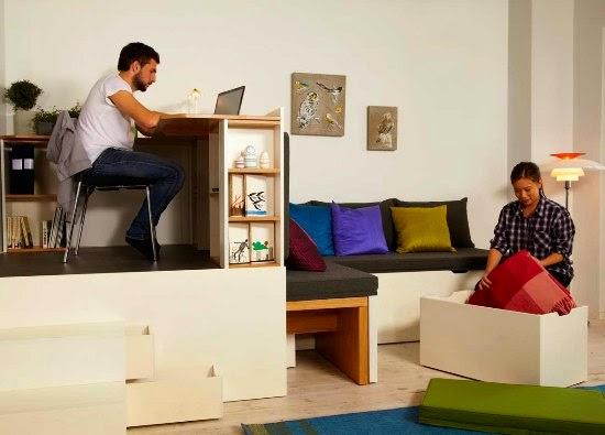 Enrhedando manualidades for Vivir en 50 metros cuadrados