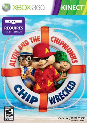 Alvin et les Chipmunks 3 xbox360