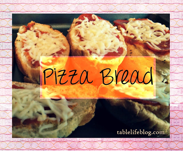 Recipe Roundup - Lunchtime Favorites - Pizza Bread